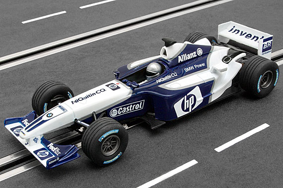 25704 Carrera Evolution Williams F1 BMW FW24 #3 2003 Livery