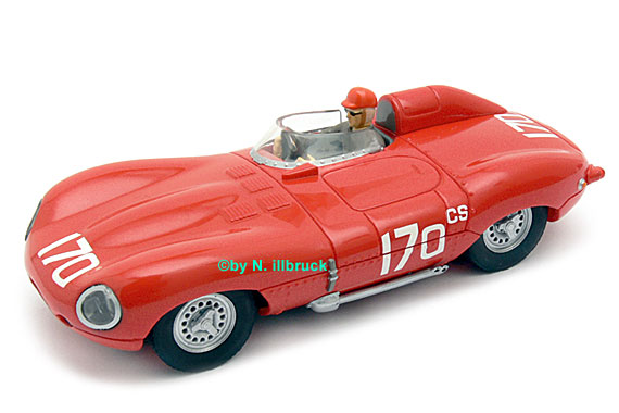 25709 Carrera Evolution Jaguar D-Type SCCA 1960
