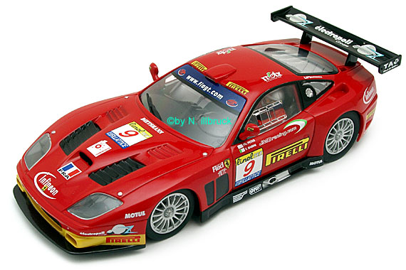 25726 Carrera Evolution Ferrari 575 GTC JMB-Racing Estoril 2003