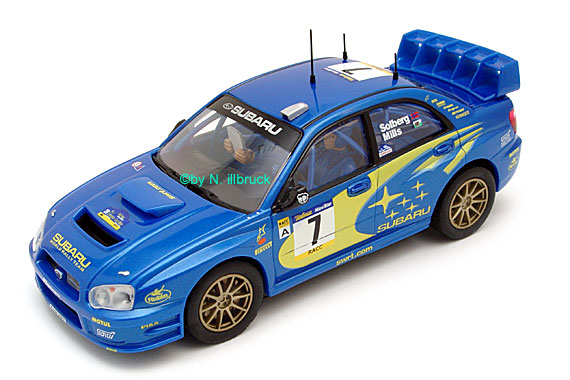 25733 Carrera Evolution Carrera Evolution Subaru Impreza WRC 2003 RACC Solberg/Mills