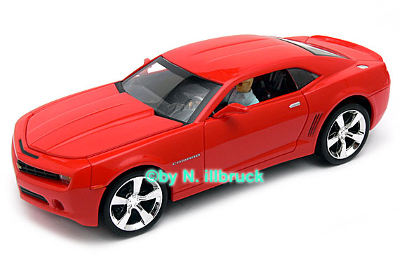 27214 Carrera Evolution Chevrolet Camaro 2007 Red