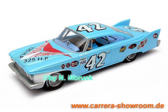 27254 Carrera Evolution Plymouth Fury '60 Lee Petty