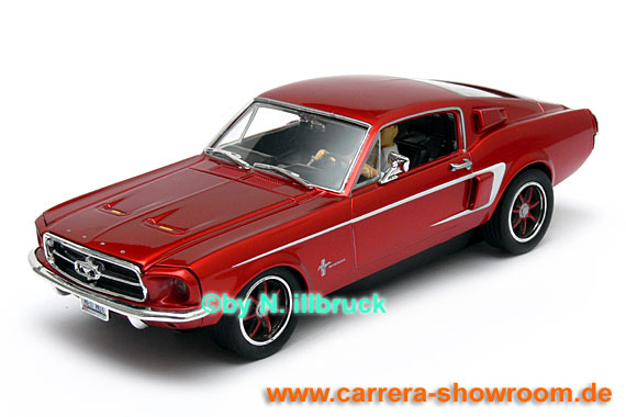 27272 Carrera Evolution Ford Mustang GT 1967 Red