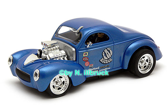 30421 Carrera Digital 132 Willys Coupe Hotrod High Performance
