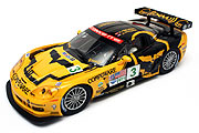 23733 Carrera Digital 124 Chevrolet Corvette C6R ALMS 2007 #3 Bad Boys