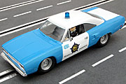 Carrera Evolution Plymouth Road Runner idee + spiel Chicago Police