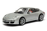 30437 Carrera Digital 132 Porsche 911 2008 Silber